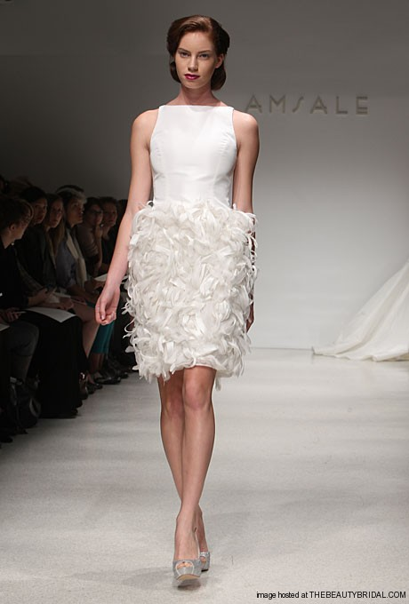 Amsale-Short-Wedding-Dress-Fall-2012-Style-Nola